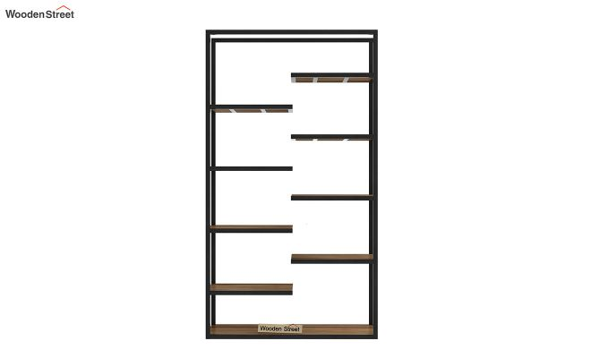 Even Loft BookShelf (Teak Finish)-5