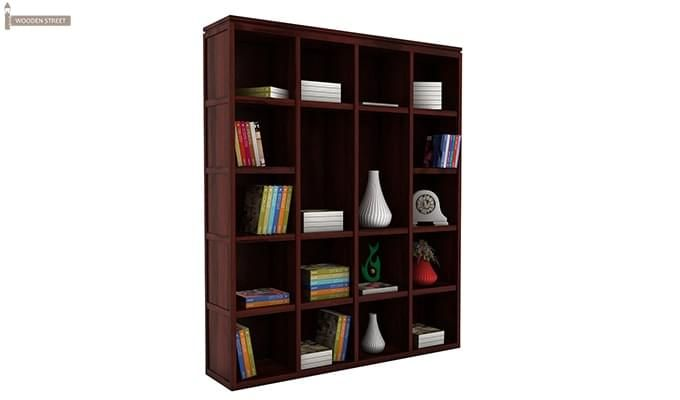 Fanny Bookshelf (Mahogany Finish)-2