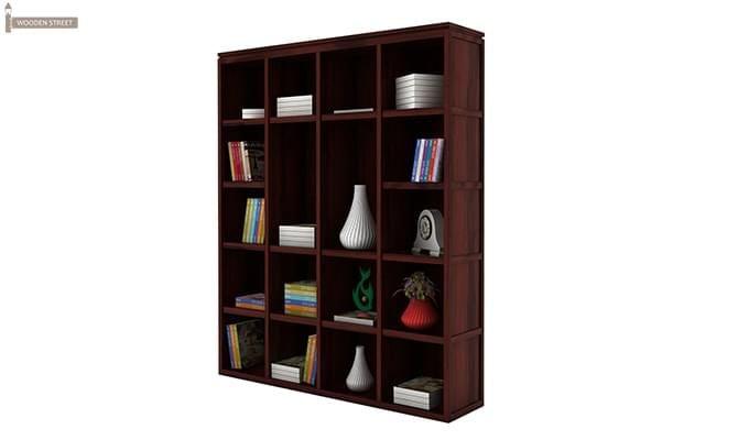 Fanny Bookshelf (Mahogany Finish)-4