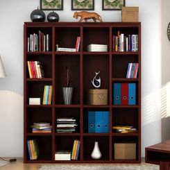 Fanny Bookshelf (Mahogany Finish)