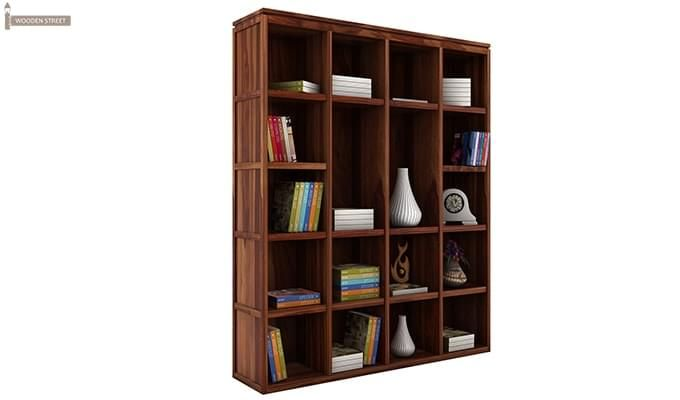 Fanny Bookshelf (Teak Finish)-2
