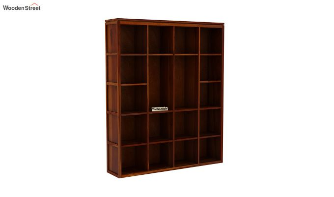 Fanny Bookshelf (Honey Finish)-3