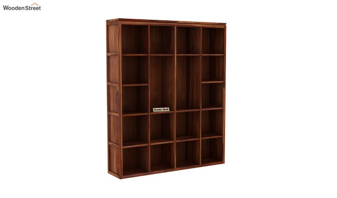 Fanny Bookshelf (Teak Finish)-3