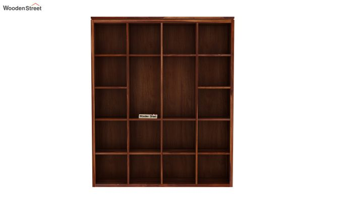 Fanny Bookshelf (Teak Finish)-4