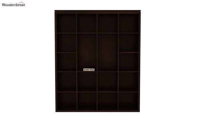 Fanny Bookshelf (Walnut Finish)-4