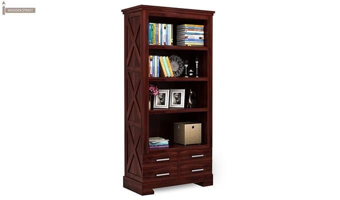 Fischl Bookshelf (Mahogany Finish)-2