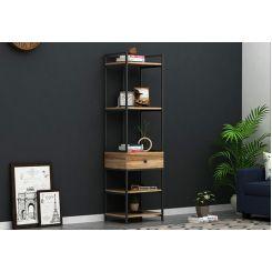 Fortuna Loft BookShelf With Storage Drawer