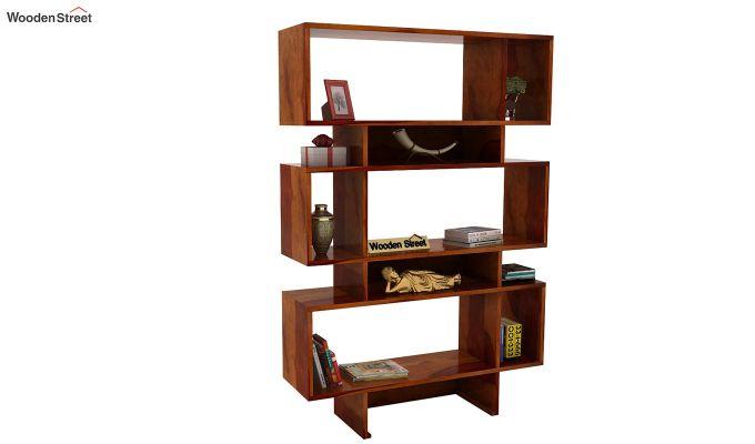 Grace Bookshelf (Honey Finish)-2
