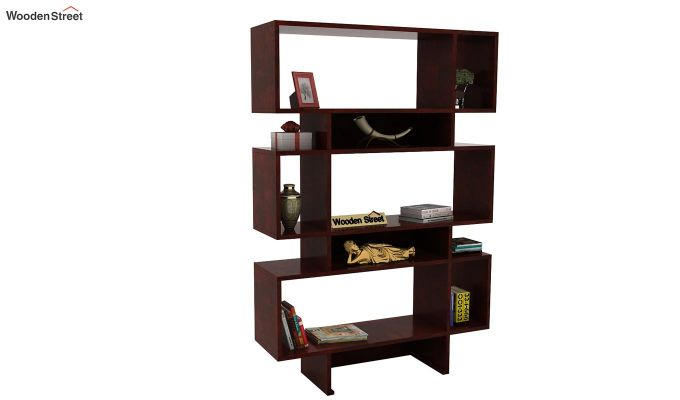 Grace Bookshelf (Mahogany Finish)-1