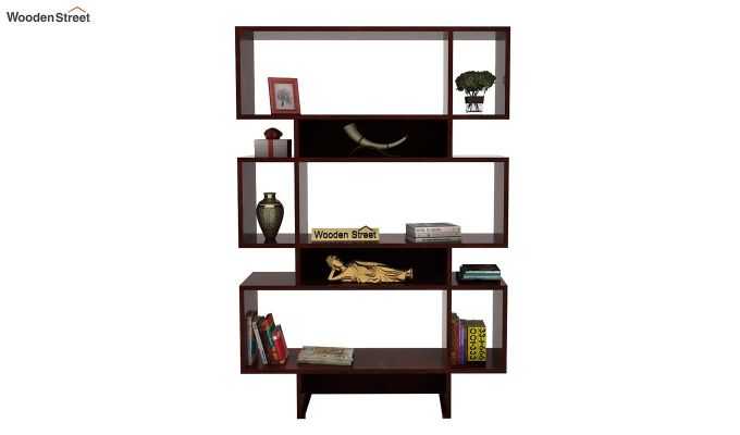 Grace Bookshelf (Mahogany Finish)-2