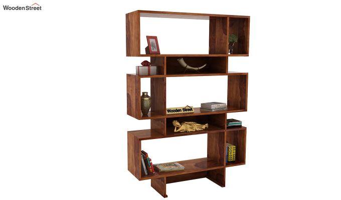 Grace Bookshelf (Teak Finish)-1