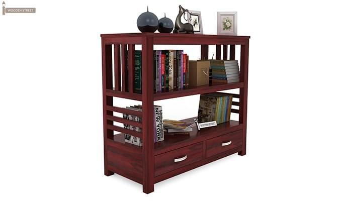 Greta Book Shelf (Mahogany Finish)-2