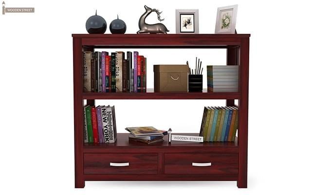 Greta Book Shelf (Mahogany Finish)-3