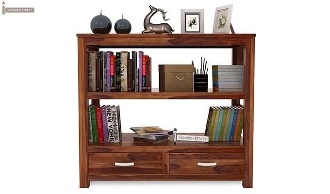 Greta Book Shelf (Teak Finish)-3