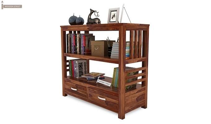 Greta Book Shelf (Teak Finish)-4