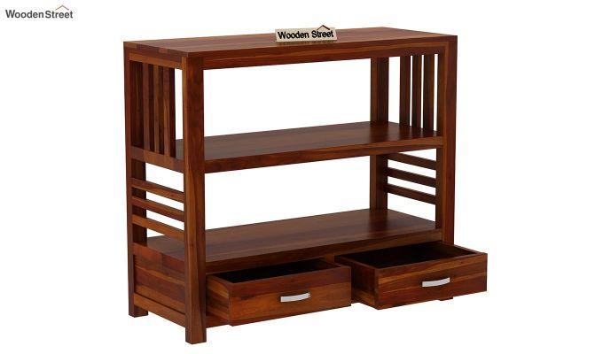 Greta Book Shelf (Honey Finish)-4