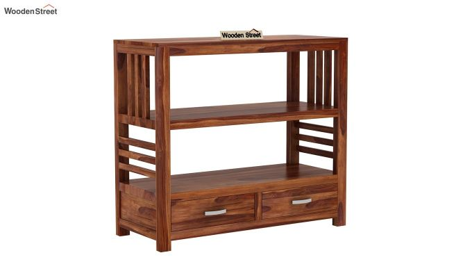 Greta Book Shelf (Teak Finish)-2