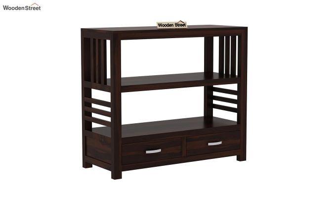 Greta Book Shelf (Walnut Finish)-2