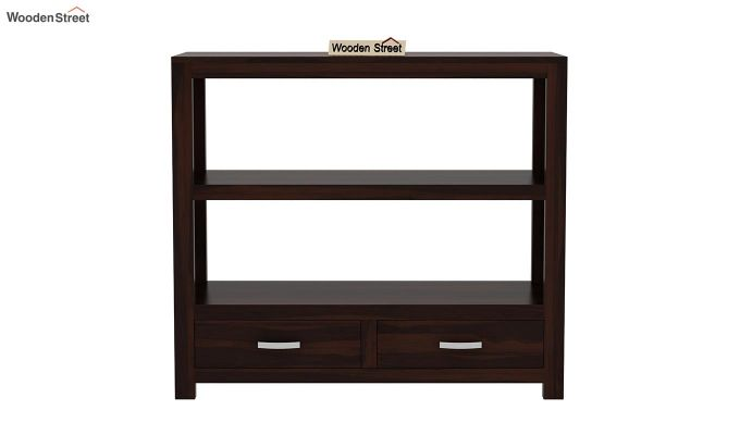 Greta Book Shelf (Walnut Finish)-3
