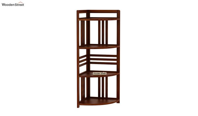 Hamlin Corner Bookshelf (Honey Finish)-2