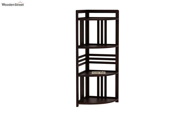 Hamlin Corner Bookshelf (Walnut Finish)-2