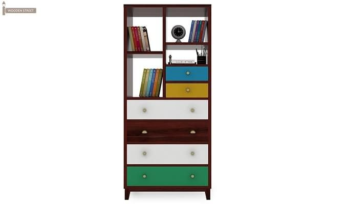 Hammons Bookshelf (Mahogany Finish)-3