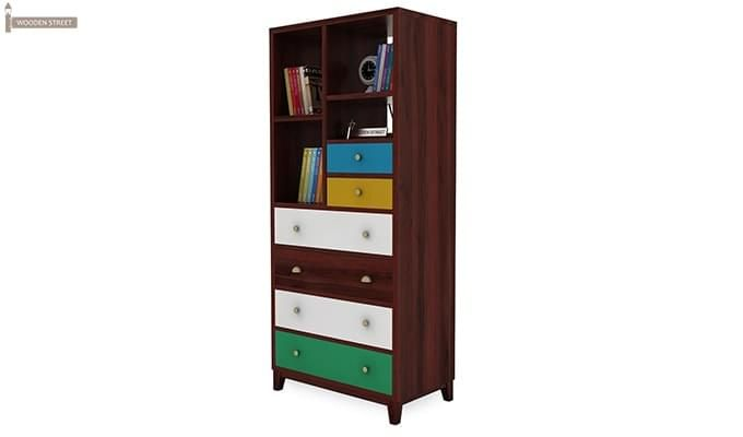 Hammons Bookshelf (Mahogany Finish)-4
