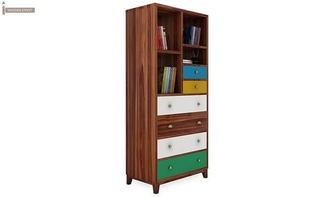 Hammons Bookshelf (Teak Finish)-2