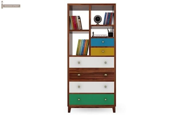 Hammons Bookshelf (Teak Finish)-3