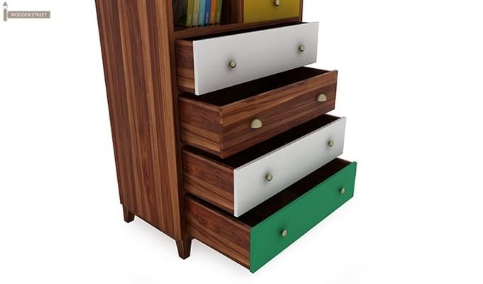 Hammons Bookshelf (Teak Finish)-4