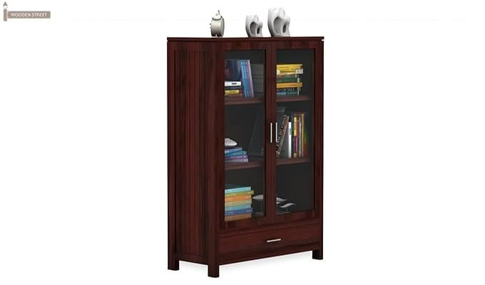 Heimo Bookshelf (Mahogany Finish)-2