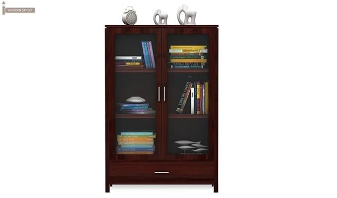 Heimo Bookshelf (Mahogany Finish)-3