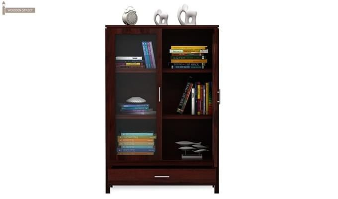 Heimo Bookshelf (Mahogany Finish)-4