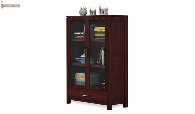 Heimo Bookshelf (Mahogany Finish)-5