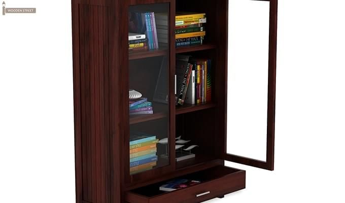 Heimo Bookshelf (Mahogany Finish)-6