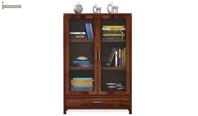Heimo Bookshelf (Teak Finish)-3