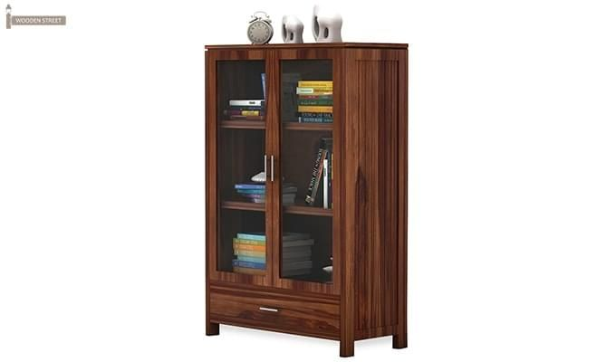 Heimo Bookshelf (Teak Finish)-4