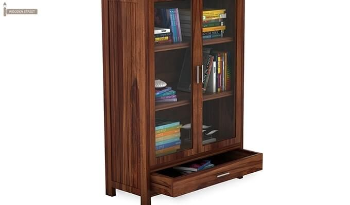 Heimo Bookshelf (Teak Finish)-5
