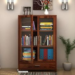 Heimo Bookshelf (Teak Finish)