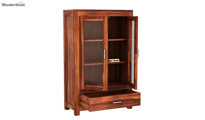 Heimo Bookshelf (Honey Finish)-4
