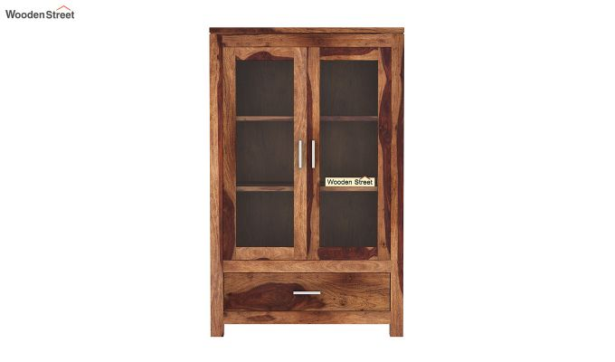 Heimo Bookshelf (Teak Finish)-3