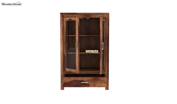 Heimo Bookshelf (Teak Finish)-5
