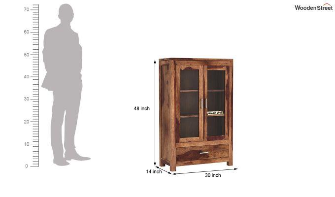 Heimo Bookshelf (Teak Finish)-6
