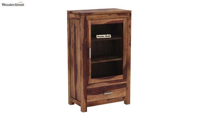 Holo Bookshelf (Teak Finish)-2