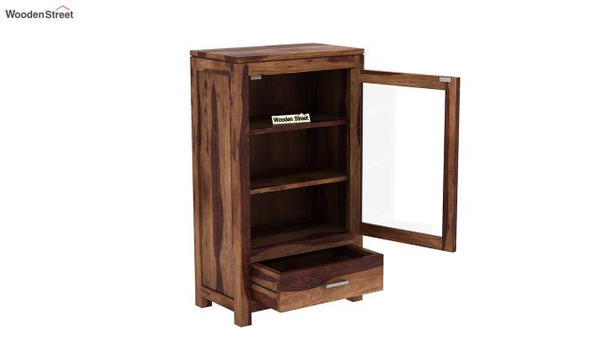 Holo Bookshelf (Teak Finish)-4