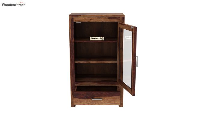 Holo Bookshelf (Teak Finish)-5
