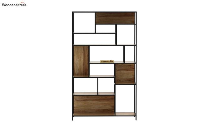Irina Loft BookShelf (Natural Finish)-3