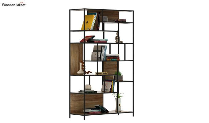 Irina Loft BookShelf (Natural Finish)-4