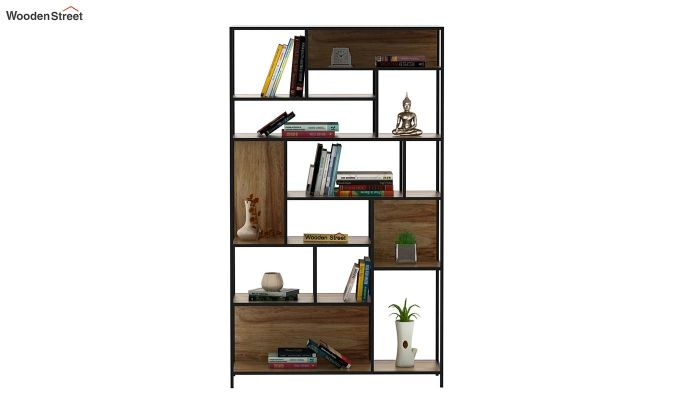 Irina Loft BookShelf (Natural Finish)-5
