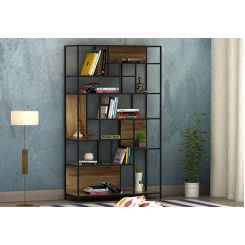 Irina Loft BookShelf (Natural Finish)